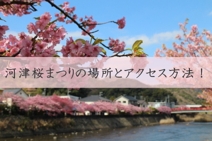 桜 駐 車場 河津